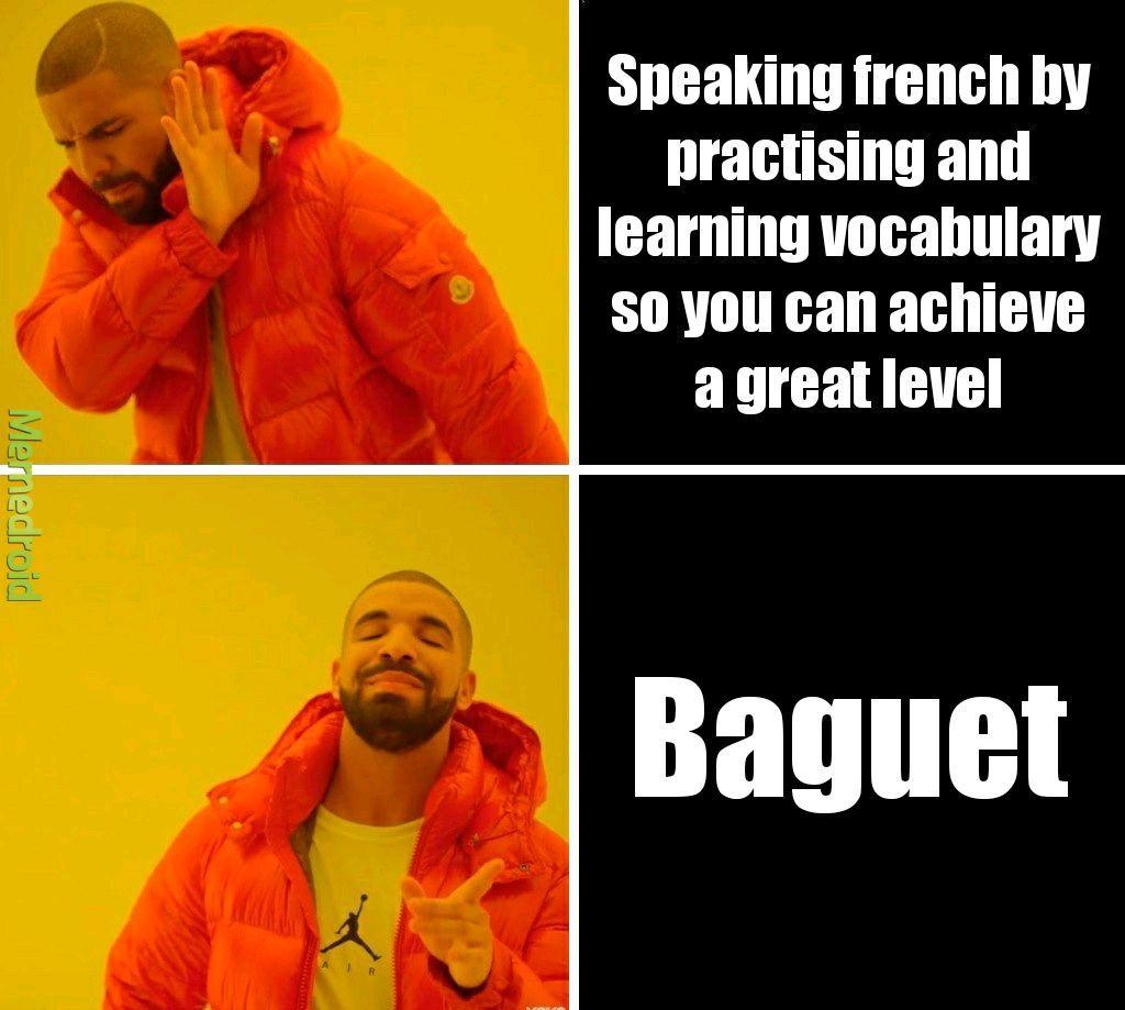 Baguet - meme