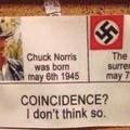 Pinche Chuck si no hubiera terminado la 2ª WW no tendríamos el Coronavirus