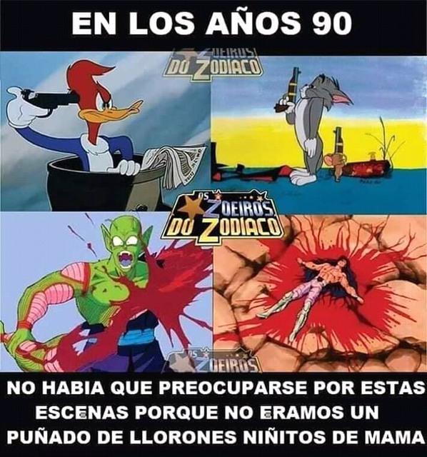 Los años 90 - meme