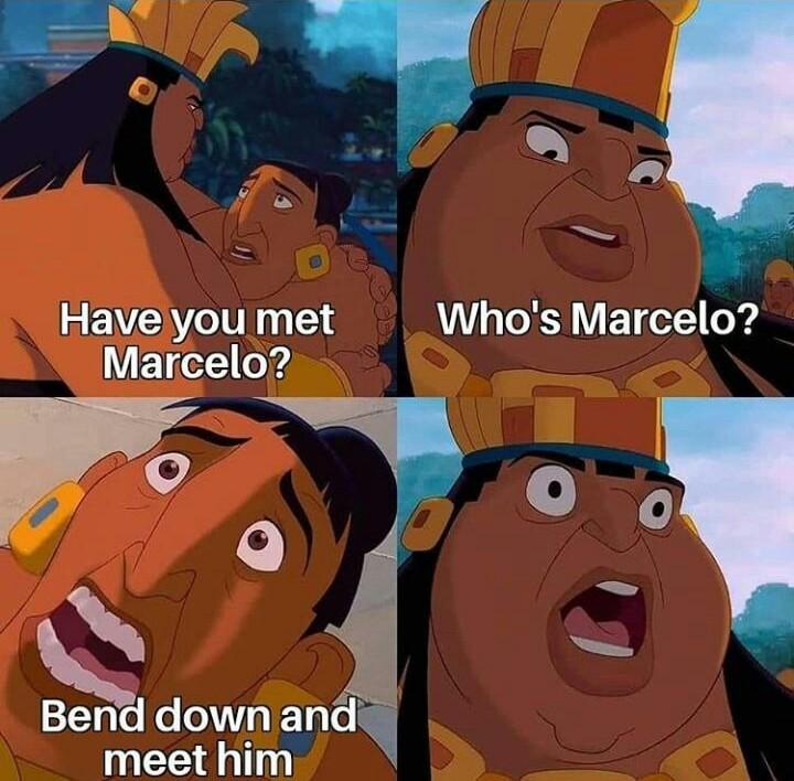 Marselo agachate y conocelo en inglés - meme