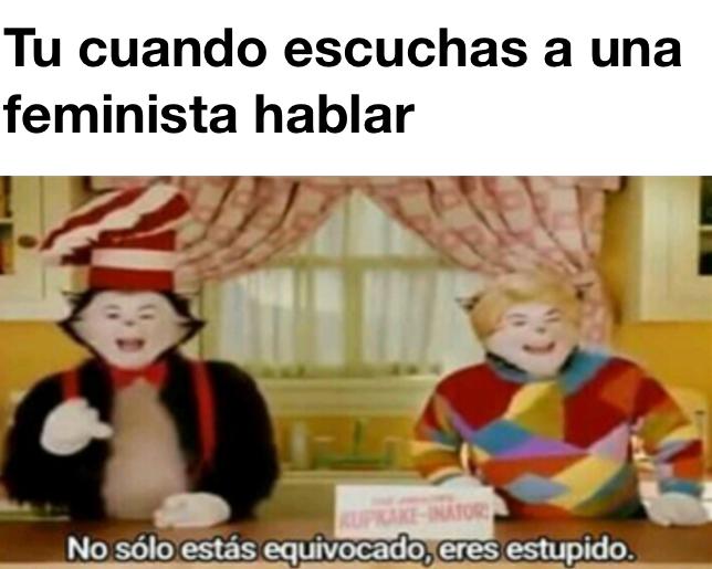 Feminisme - meme