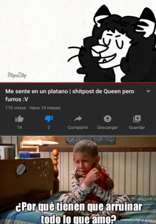 Malditos furros - meme