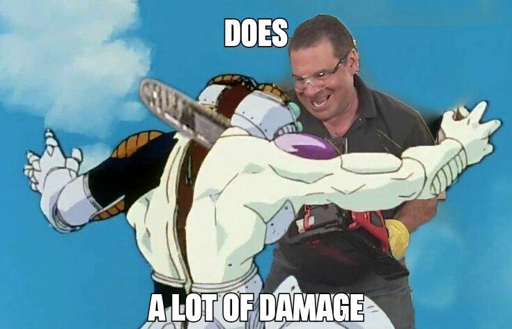Hace un shorro de dañio - meme