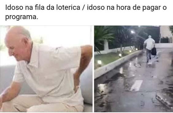 Idoso - meme