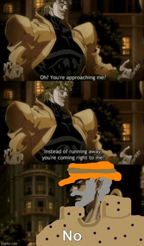 the secret joestar technique - meme
