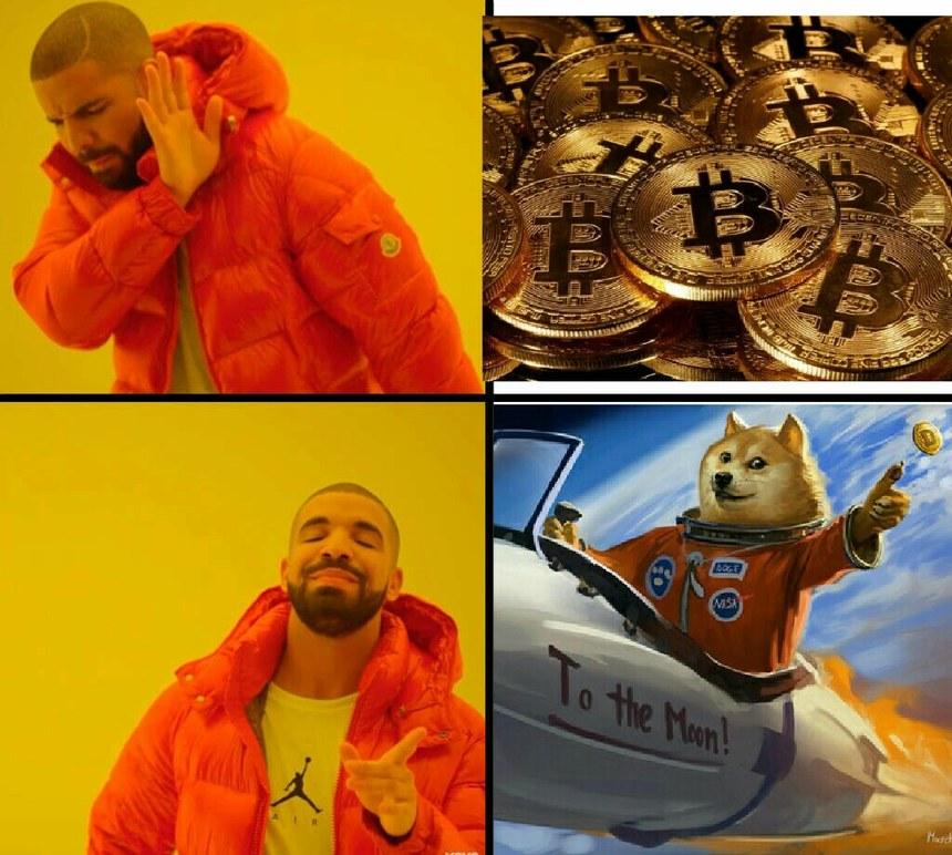 Doge coin chad - meme
