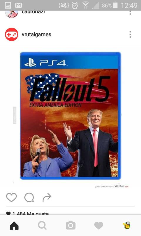 Filtrada caja del Fallout 5 - meme