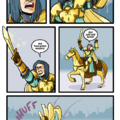 Gold armor may not be the best