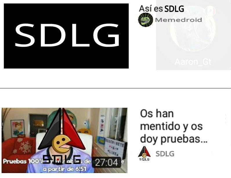 Fuera SDLG - meme