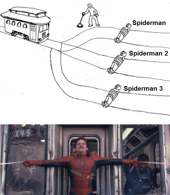 Who's the best spiderman? - meme
