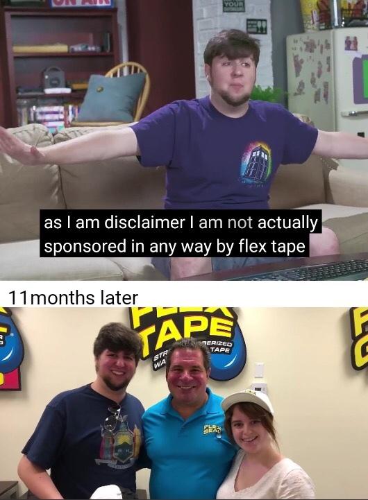 Oof that's a lotta damage - meme