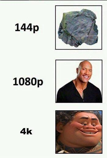 The rock quality - meme