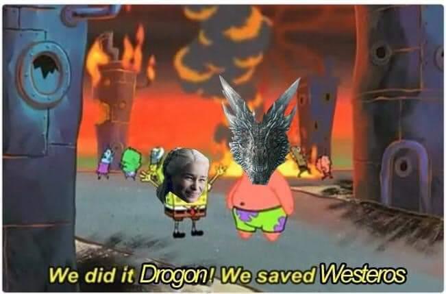 Memes and burning dreams