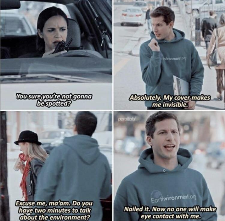 I love Brooklyn Nine-Nine - meme