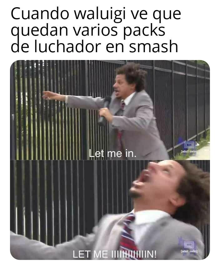 Pobre waluigi - meme