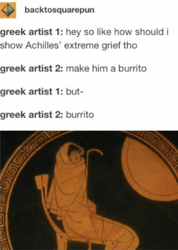 Who loves burritos? - meme