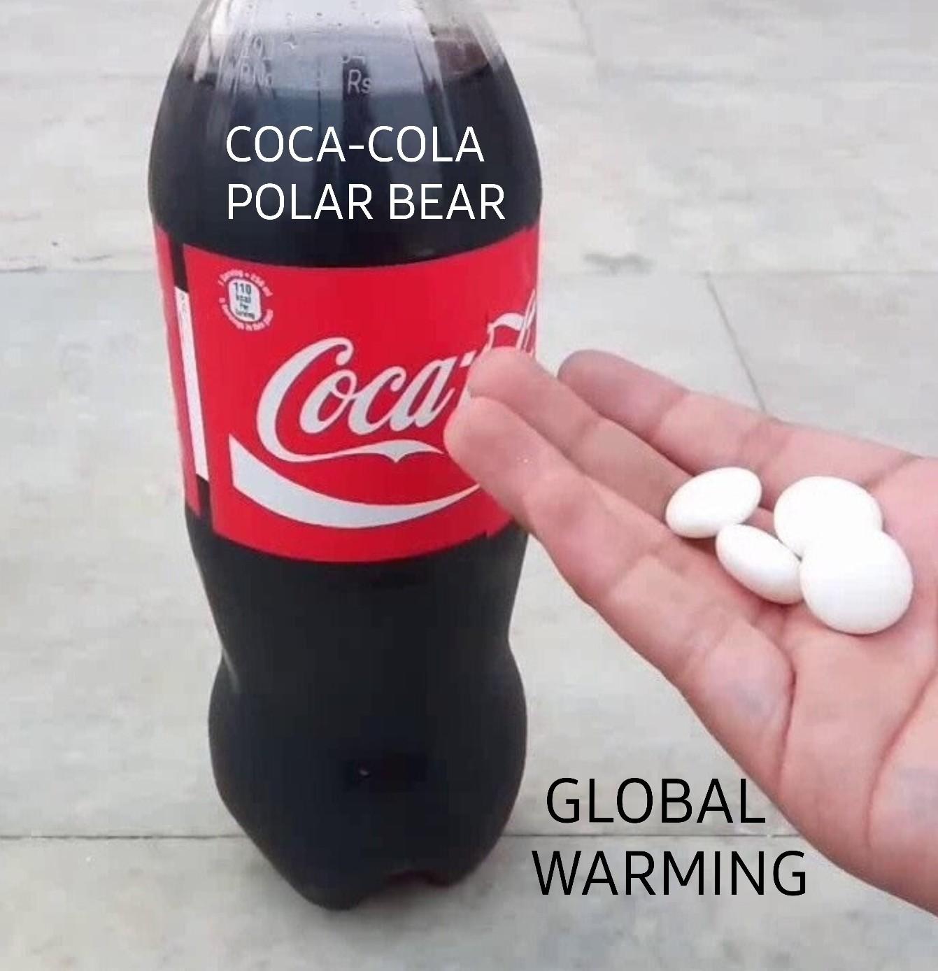 Coke is the solution. - meme