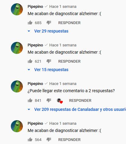 Le acaban de diagnosticar alzheimer - meme