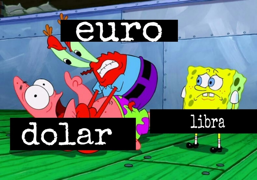 Batalla de billetes - meme
