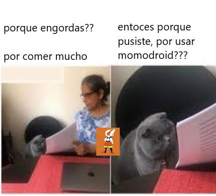 momodroid - meme