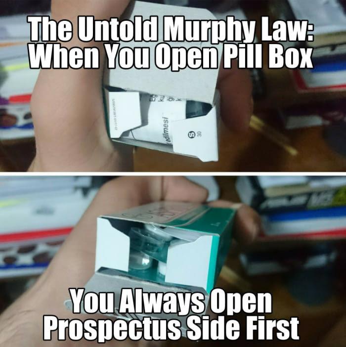 Murphy's law - meme