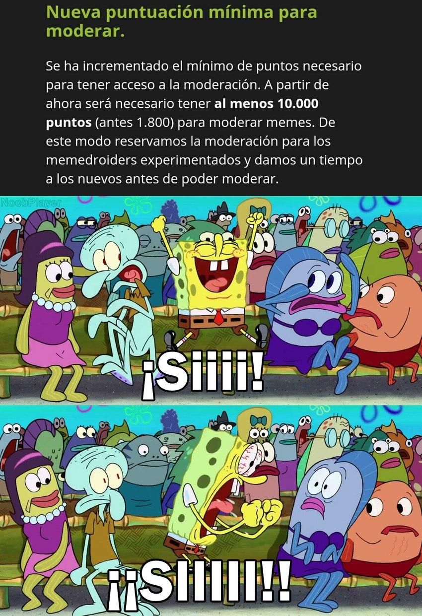 Novagecko mejoró el sistema de moderación, pueden verlo en la página. También hizo 2 blogs sobre memes para año nuevo y los mejores memes subidos al server español.