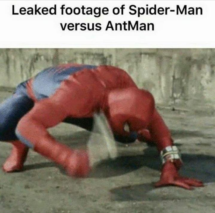 Don't tell marvel - meme
