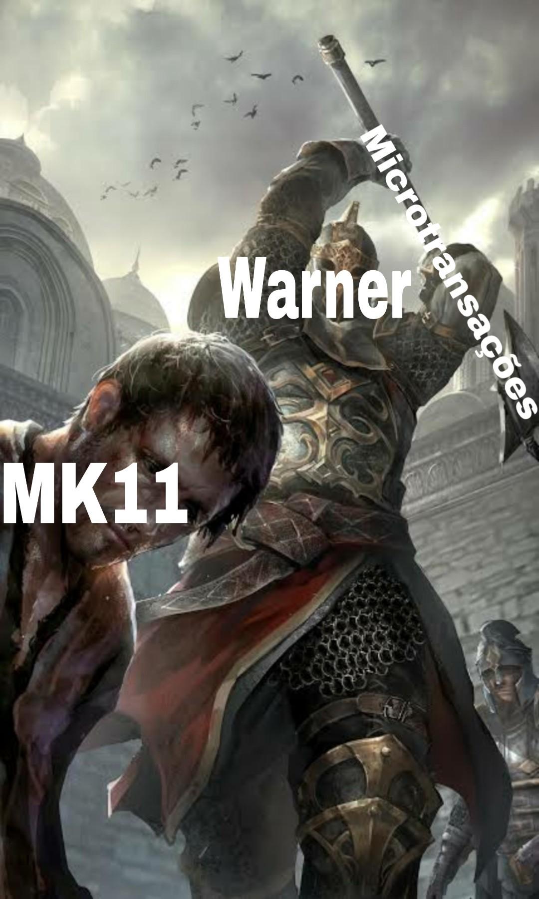 Warner fudendo dnv - meme