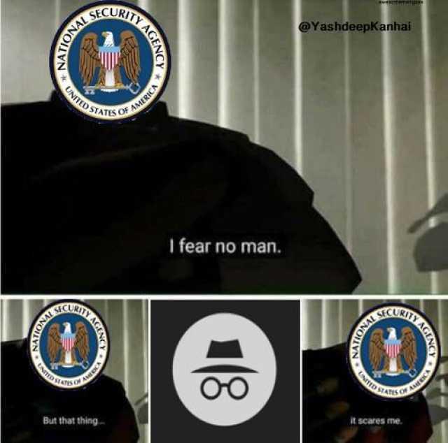 FBI has a weakness. - meme