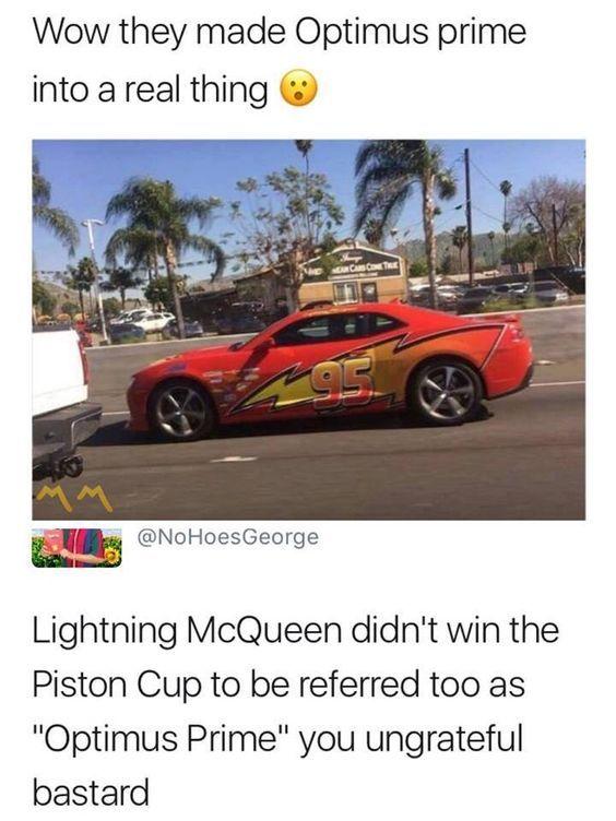 Lightning Mcqueen - meme
