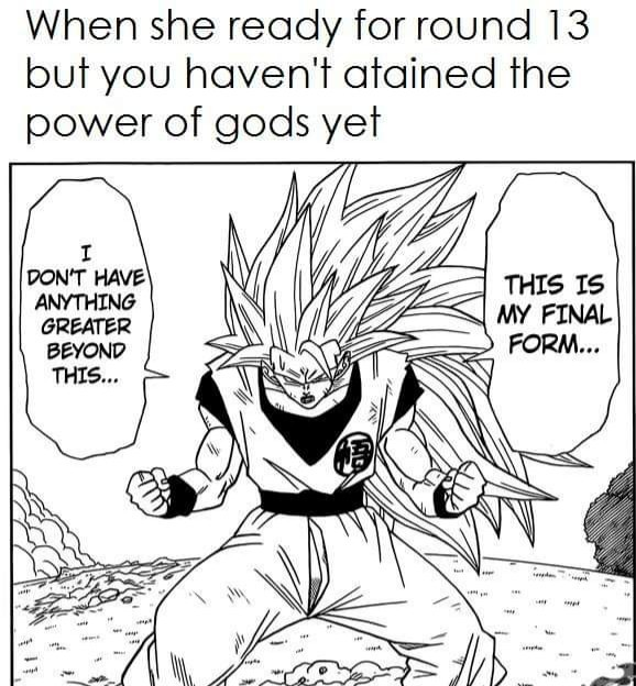 Goku troubles. - meme