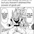 Goku troubles.