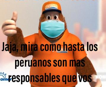 Peruanos, seres responsables - meme
