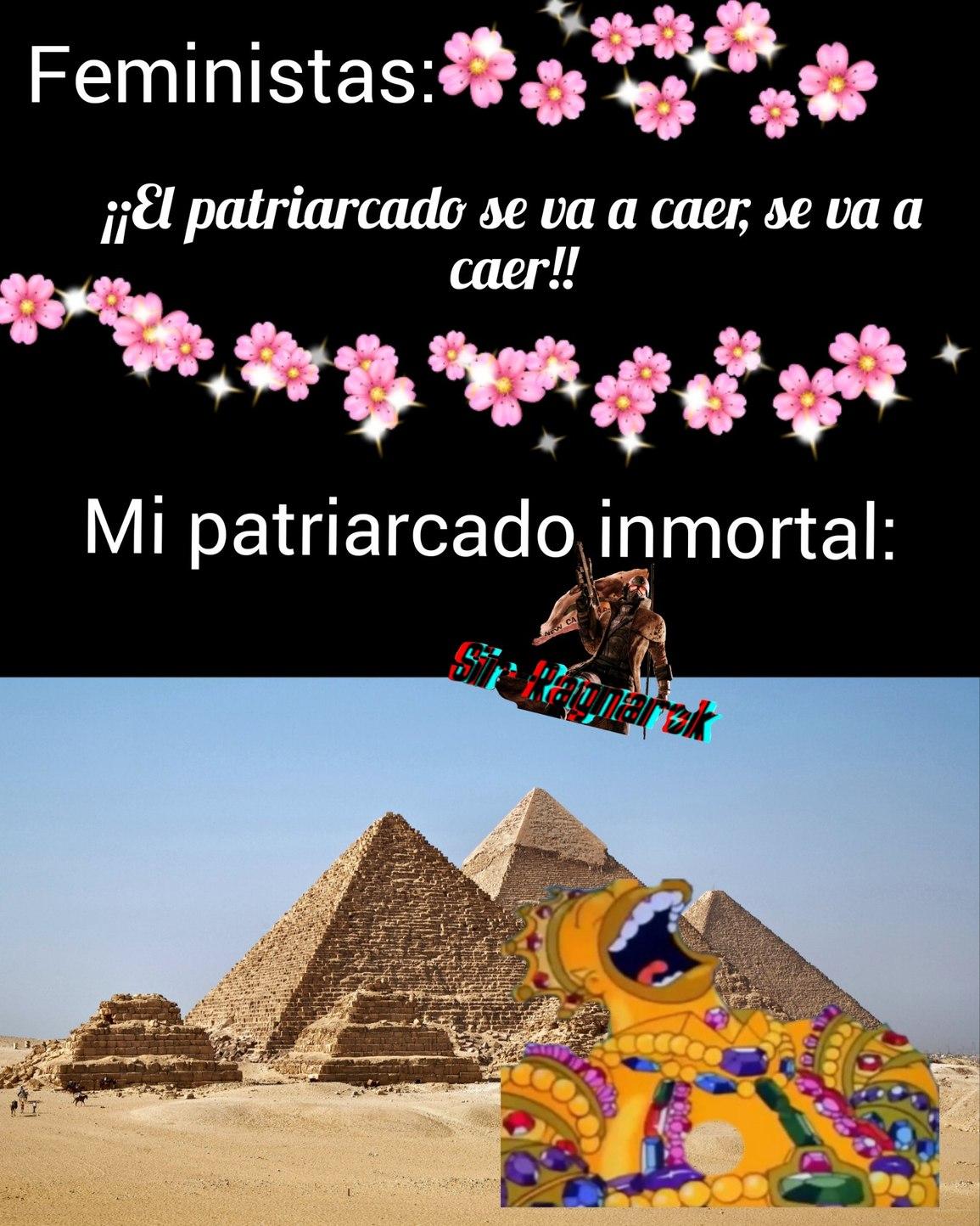 Jaja, es gracioso porque la piramide es de las formas geometricas mas estables,           rianse - meme