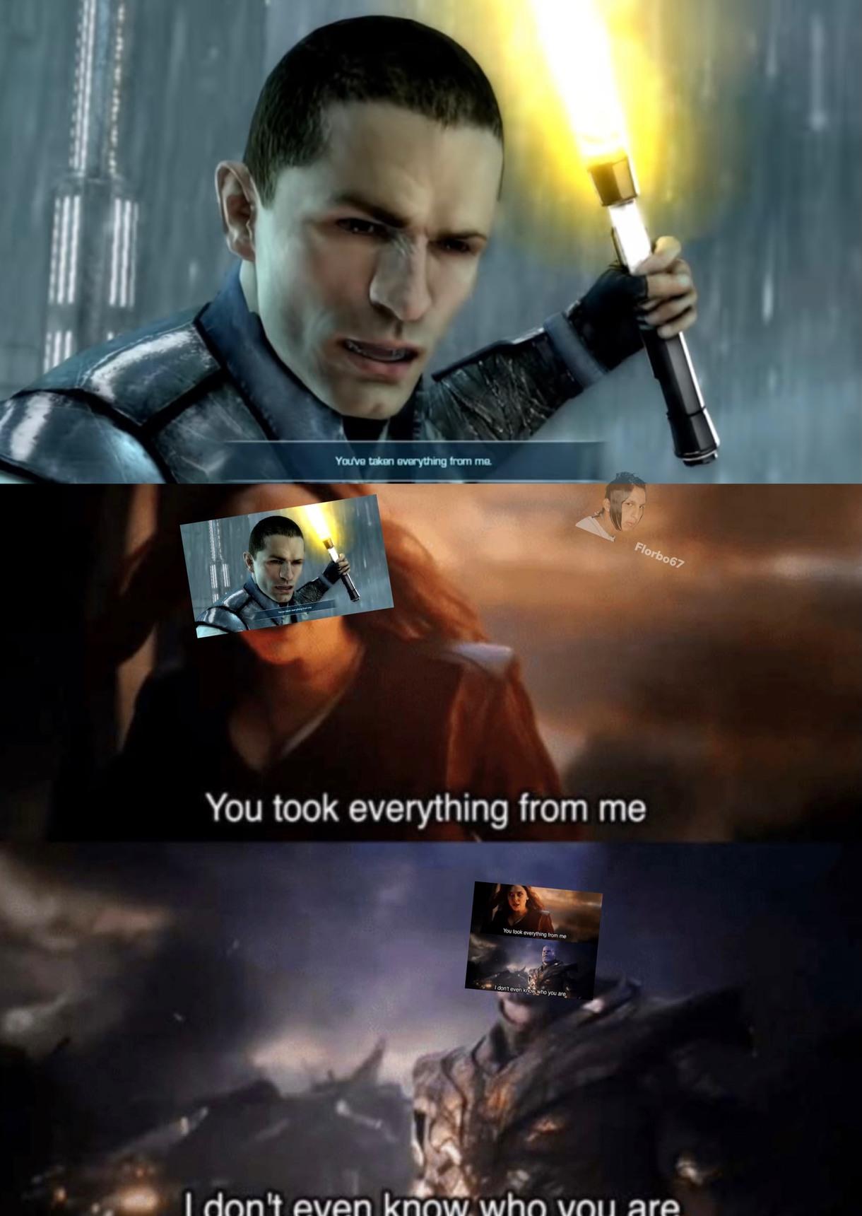 force unleashed 2 - meme