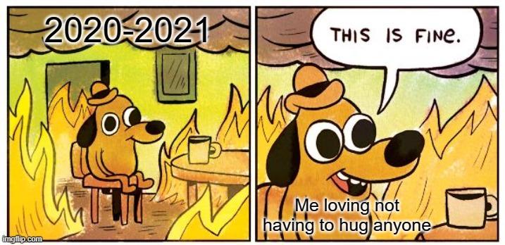 Hug me and die - meme