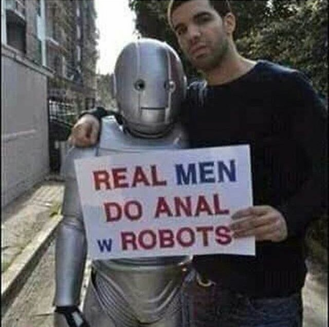 Are you a real man? - meme