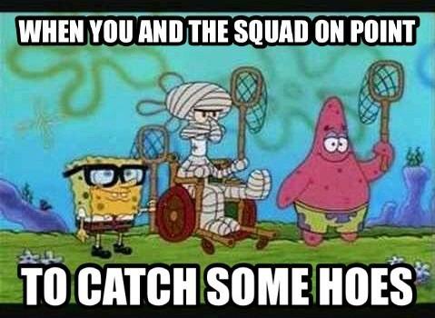 Spongebob trumpedge - meme