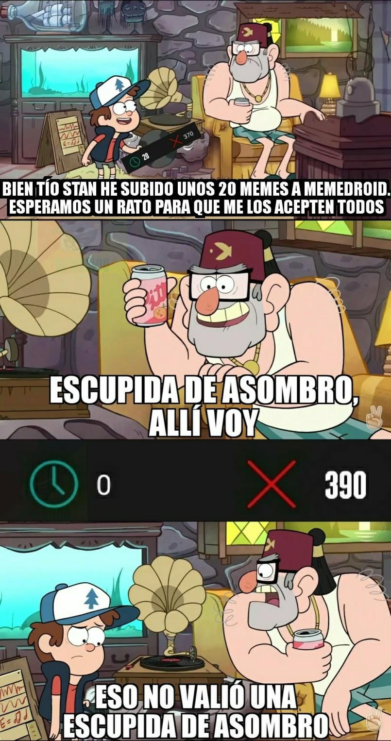 Fiesta de nada <|:^) - meme