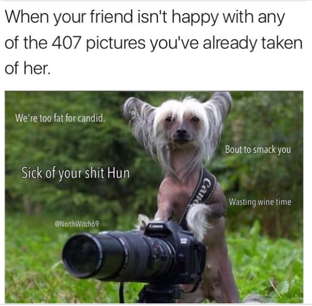 Take a picture it'll last longer - meme
