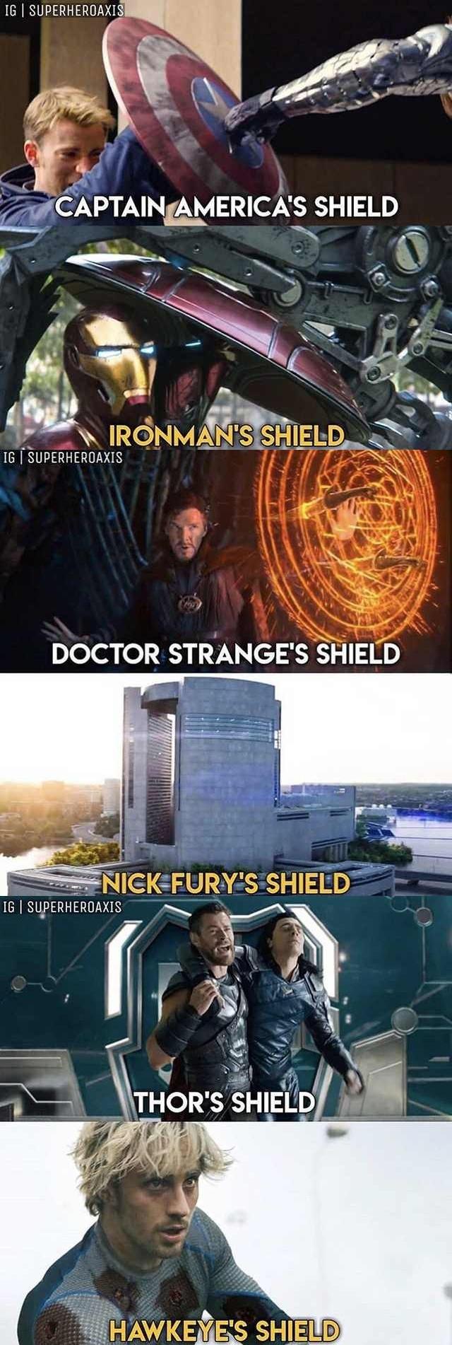 Many shields - meme