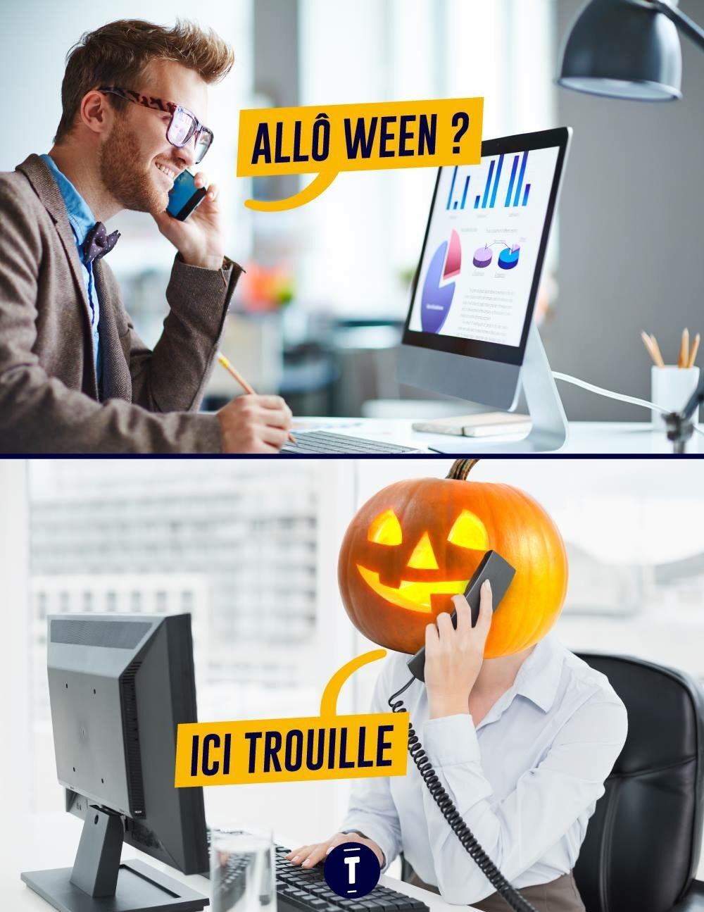 joyeux Halloween - meme