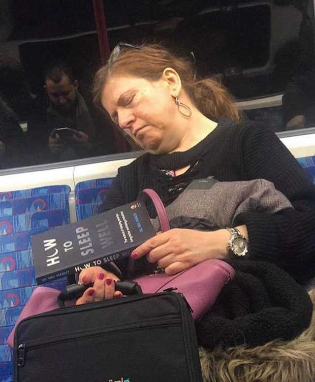 Irony or a good book? - meme
