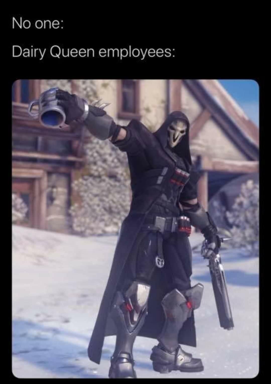 Have a blizzard - meme