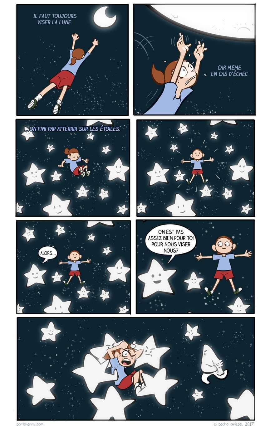 Étoiles - meme