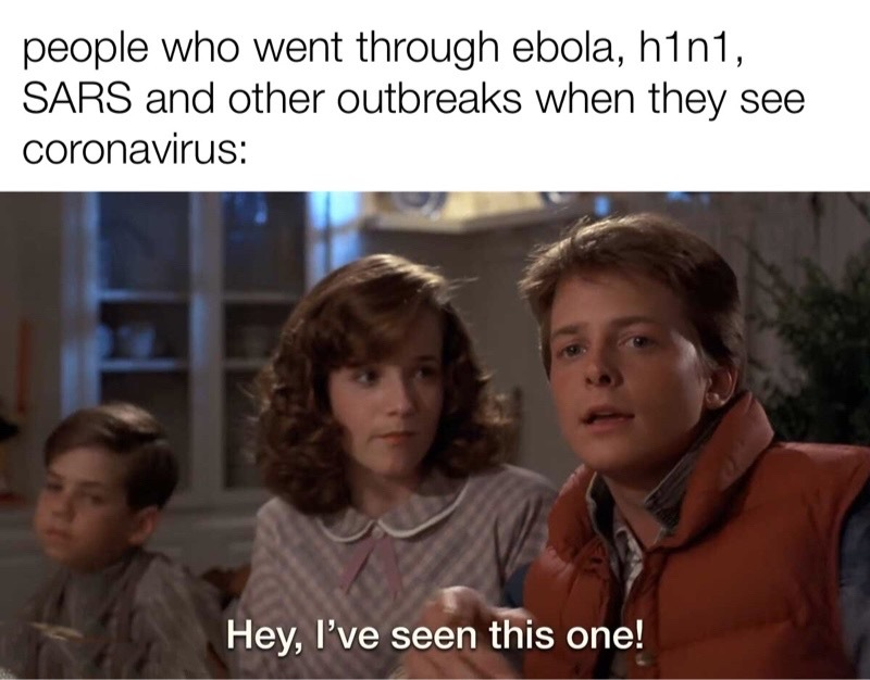 this isn't new. we should be prepared - meme