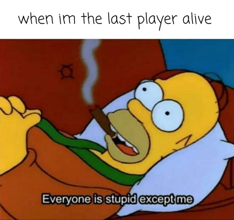 Staying alive - meme