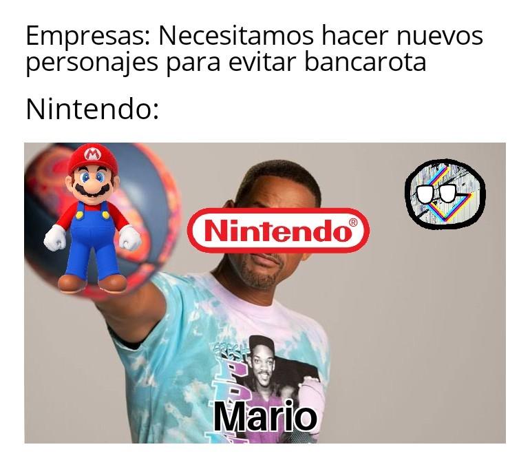Tipico de Nintendo - meme