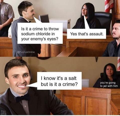 A salt - meme