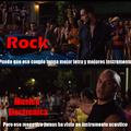 Rock gud, electro bad.